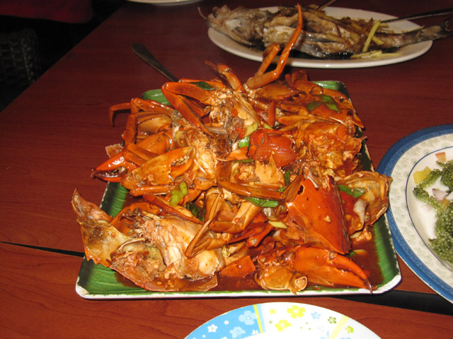 Chili Crab Dampa