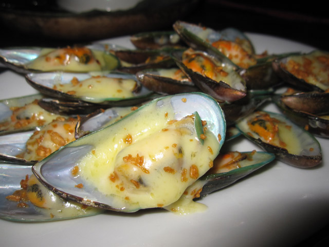 Mussels in Manila