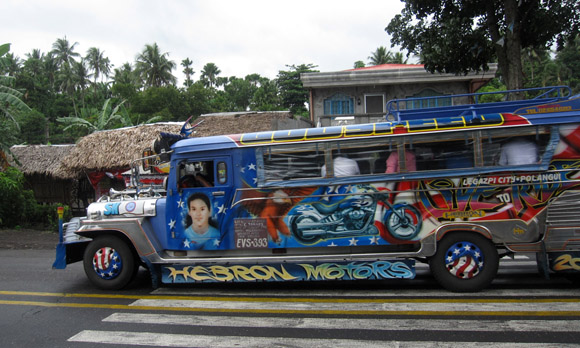 jeep riding in manila