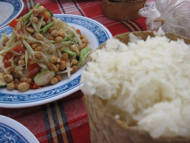 Sticky Rice in Vientiane Laso