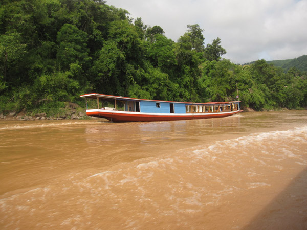 Boating the Mekong River