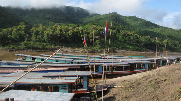 Boat trip down the Mekong