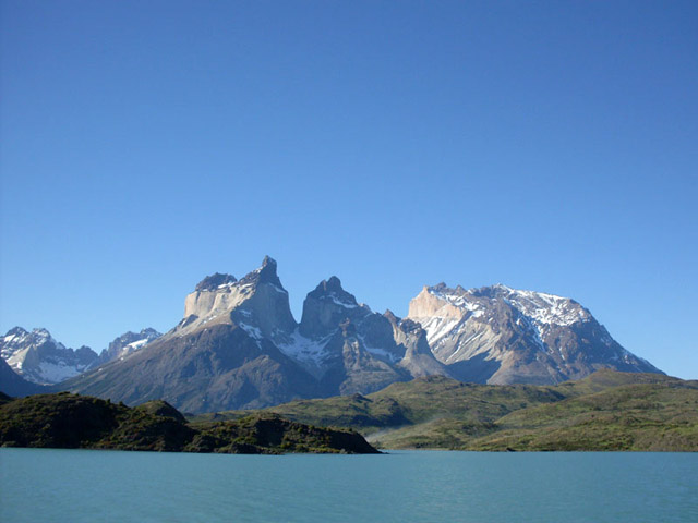 Glimpse of Torres Del Paine