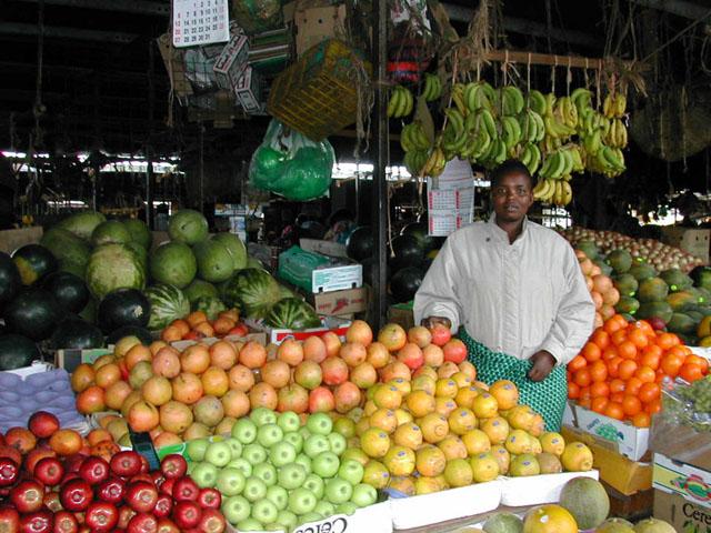 Fruit Vendor in Nairobi