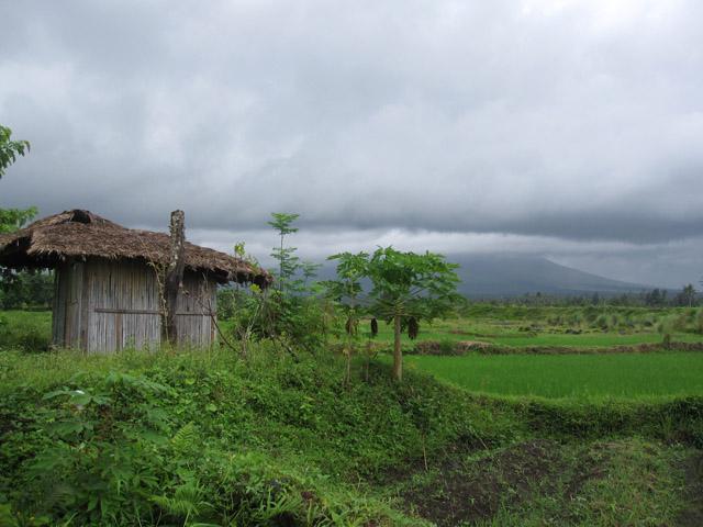 At the Base of Mt. Mayon
