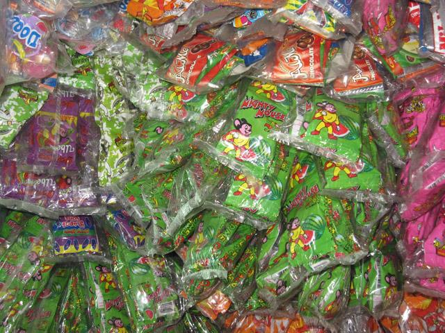 Snacks in Manila
