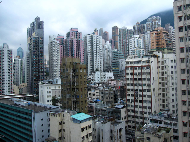 Hong Kong View from Window