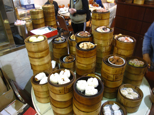 Stacks of Dim Sum