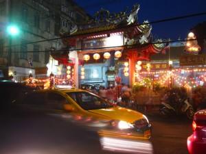 Chinese Temple Yaowarat Chinatown Bangkok