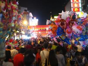 Yaowarat Chinatown in Bangkok