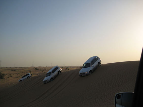 sand safari land cruiser dubai