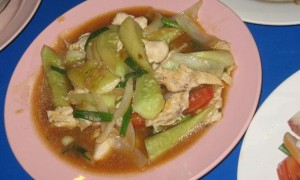 Thai sweet and sour chicken