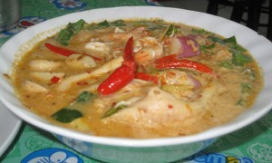 Tom Yum Gung Coconut Soup Thailand