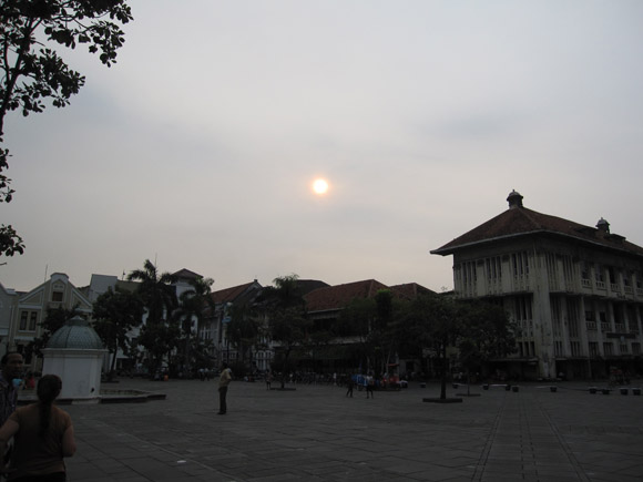 Historic Colonial Town Jakarta Indonesia