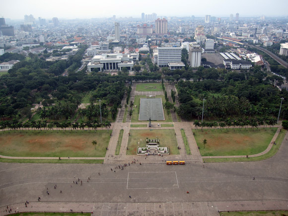 monas view of jakarta What to Do When You Find Yourself in Jakarta