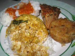 Nasi Padang Food in Jakarta