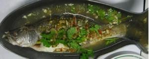 Thai snapper with lemon