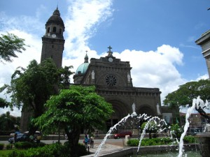 spanish intramuros manila church