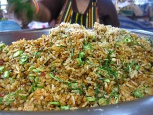 thai southern rice salad khao yam pak tai