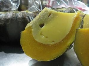 Thai pumpkin with custard