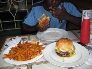 Burger Hut Nairobi Kenya