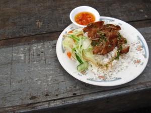 Khmer Rice and Pork