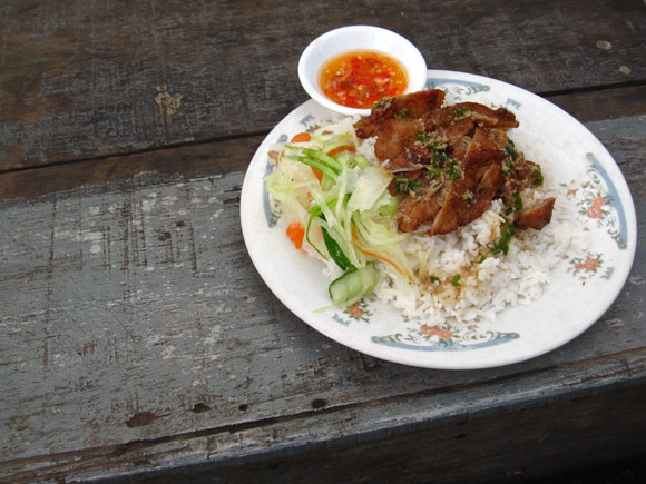 Khmer Rice and Pork