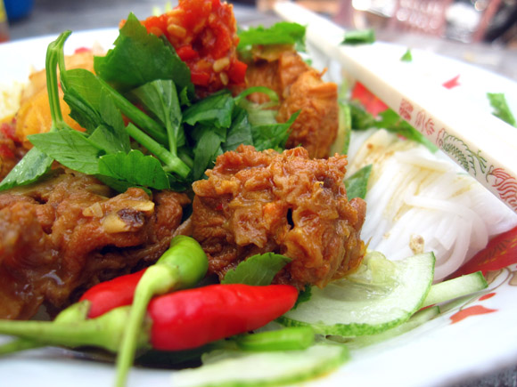 Khmer Noodles Rules of Engorgement: Cambodian Breakfast