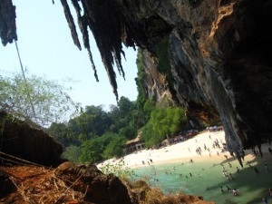 railay bay krabi beach