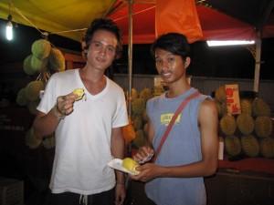 testing durian king of fruit