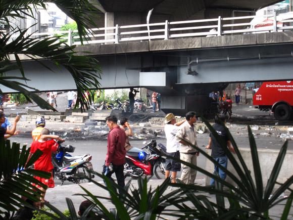 IMG 0085 Ground Zero in Bangkok, Din Daeng, 18 May 2010
