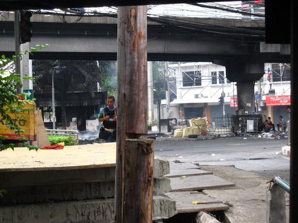 IMG 0117 Ground Zero in Bangkok, Din Daeng, 18 May 2010