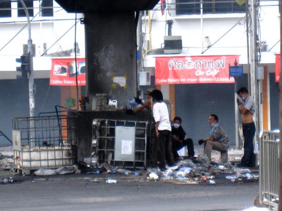 IMG 0120 Ground Zero in Bangkok, Din Daeng, 18 May 2010