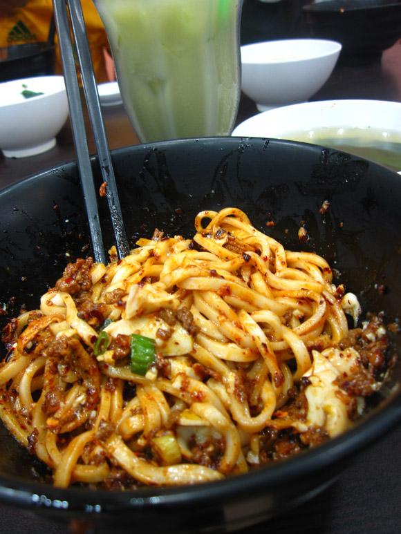 IMG 3431 Malaysian Spaghetti: Super Kitchen Chili Pan Mee