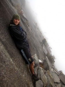 rocks of mount kinabalu borneo