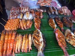 seafood in borne