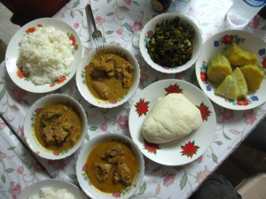 Cameroon Fufu 300x225 World Cup of Cuisine: 32 Culinary Nations Battle in South Africa 2010