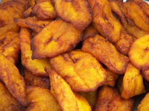 fried plantain bananas
