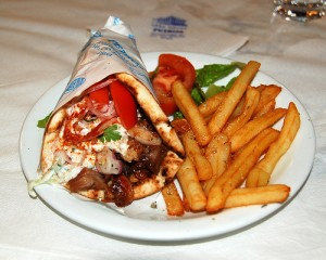 Greek souvlaki 300x240 World Cup of Cuisine: 32 Culinary Nations Battle in South Africa 2010
