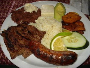 Honduran typical food