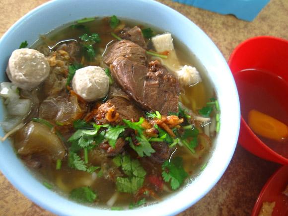 beef soup in kota kinabalu