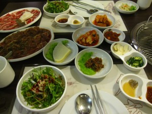 Bulgogi and vegetables