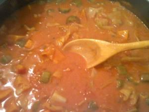 Nigerian peanut stew