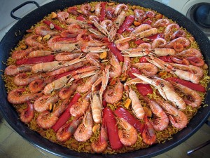 Spain paella 300x225 World Cup of Cuisine: 32 Culinary Nations Battle in South Africa 2010