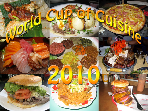 World Cup of Cuisine Small World Cup of Cuisine: 32 Culinary Nations Battle in South Africa 2010
