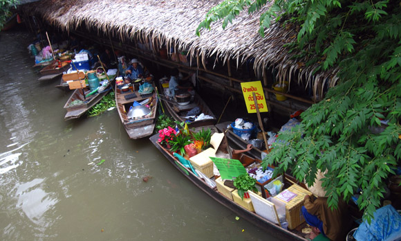 latmayom floating market Khlong Lat Mayom Floating Market