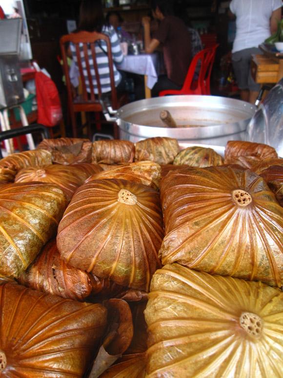 Food at Sam Chuk market