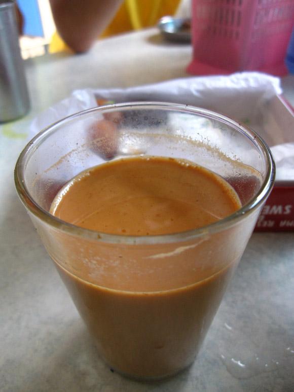 masala tea in pahurat bangkok thailand