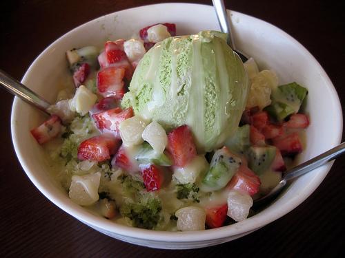 patbingsoo korean ice dessert