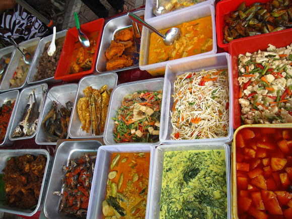 mixed rice curry kuala lumpur malaysia